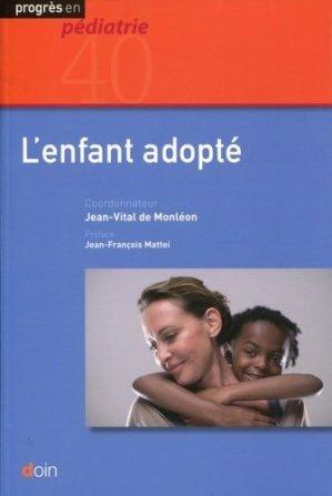 L'enfant adopté - doin - 9782704014194