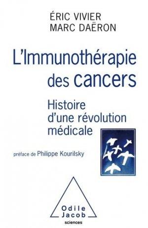 L'Immunothérapie des cancers - odile jacob - 9782738145970