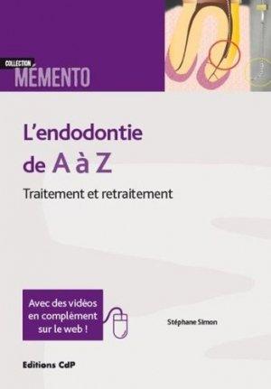 L'endodontie de A à Z-cdp-9782843614088