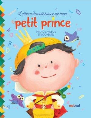 L'album de naissance de mon petit prince-nuinui-9782889357291