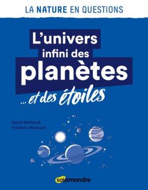 L'univers infini des planètes... et des étoiles - plume de carotte - 9782889583645