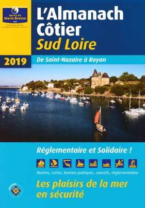 L'almanach côtier Sud Loire 2019-oeuvres du marin breton-9782902855605