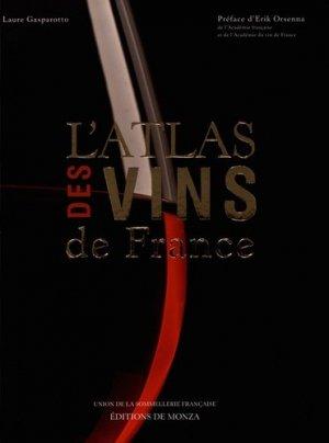 L'atlas des vins de France-monza-9782916231464