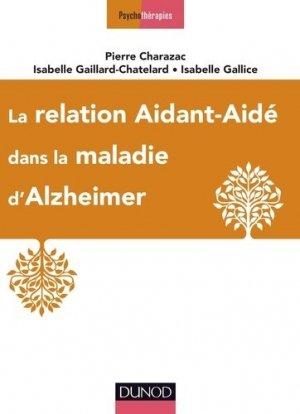 La relation aidant-aidé dans la maladie d'Alzheimer-dunod-9782100760954