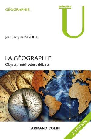 La géographie - armand colin - 9782200611828