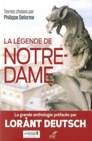La légende de Notre-Dame - cerf - 9782204135962