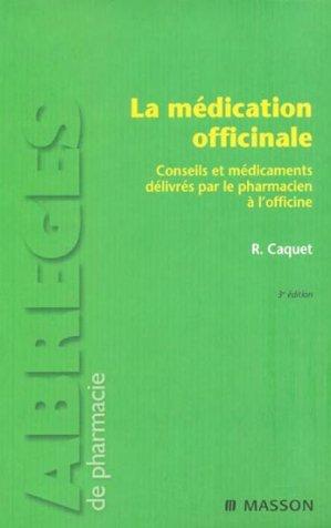 La médication officinale-elsevier / masson-9782294707445