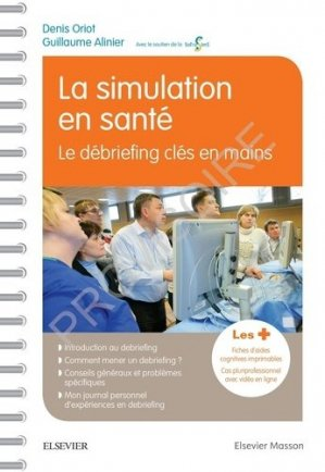La simulation en santé-elsevier / masson-9782294764394