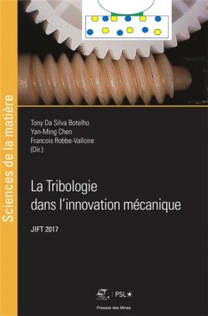La tribologie dans l'innovation mécanique-presses des mines-9782356715173