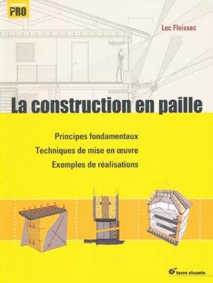 La construction en paille - terre vivante - 9782360980819
