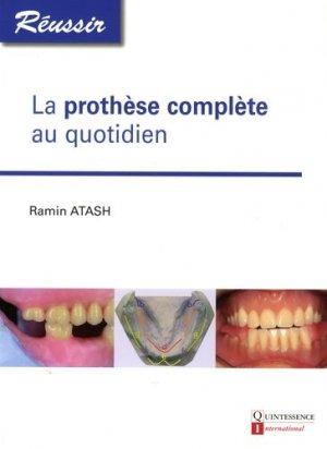 La prothèse complète quotidien-quintessence international-9782366150254
