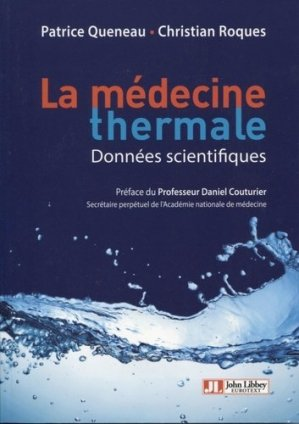 La médecine thermale-john libbey eurotext-9782742015498