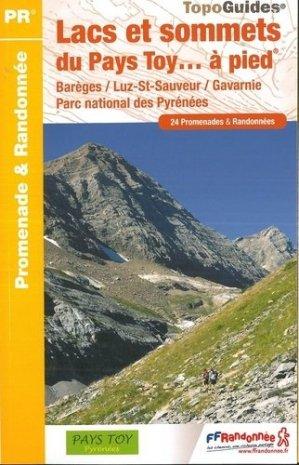 Lacs et sommets du Pays Toy à pied-ffrp-9782751410420