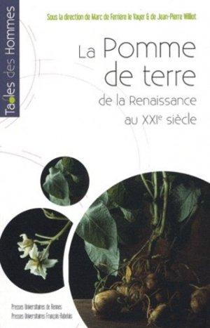 La pomme de terre de la Renaissance au XXIe siècle - presses universitaires de rennes - 9782753513976