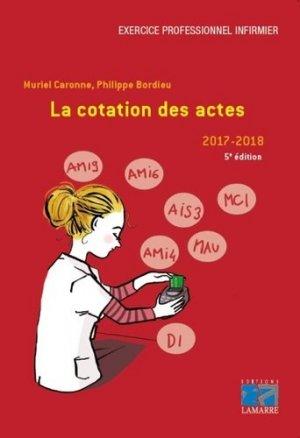 la cotation des actes 2017-2019-lamarre-9782757309827