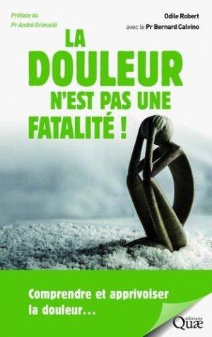 La douleur n'est pas une fatalité-quae-9782759228034