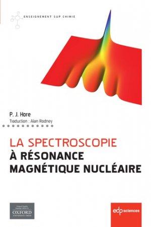 La spectroscopie à résonance magnétique nucléaire-edp sciences-9782759821198