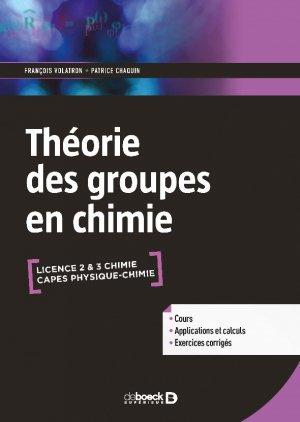La théorie des groupes en chimie-de boeck superieur-9782807307438