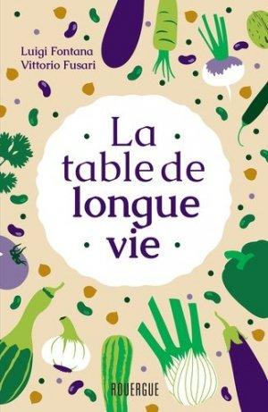 La table de longue vie-Rouergue-9782812617843