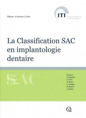 La Classification SAC en implantologie dentaire - quintessence international - 9782912550804