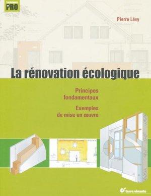 La rénovation écologique-terre vivante-9782914717762