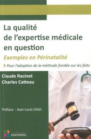 La qualité de l'expertise médicale en question-sauramps médical-9791030302011