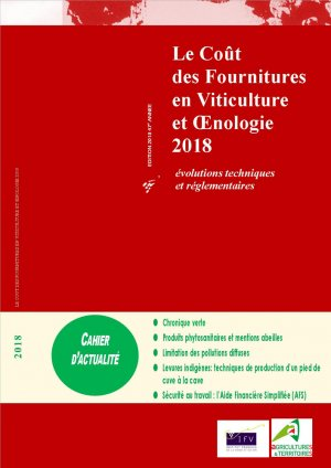 Le coût des fournitures en viticulture et oenologie 2018-institut francais de la vigne et du vin-2225149670329