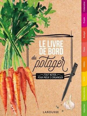 Le livre de bord du potager-larousse-9782035954374