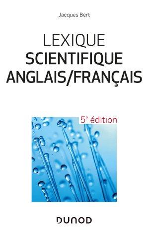 Lexique scientifique anglais/français - dunod - 9782100793600