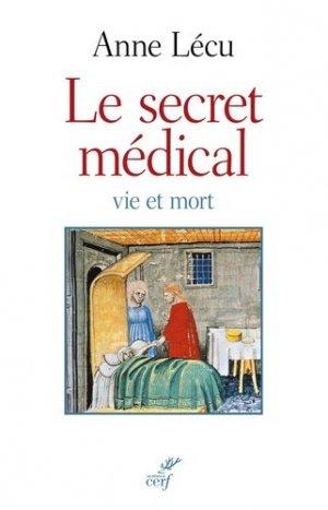 Le secret médical - cerf - 9782204114929