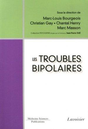 Les troubles bipolaires - lavoisier msp - 9782257205650