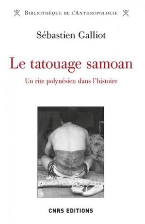 Le tatouage samoan-cnrs-9782271126399
