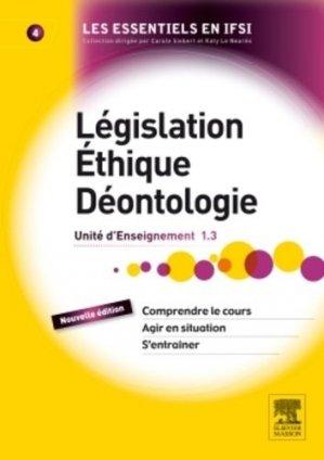 Législation Éthique Déontologie - elsevier / masson - 9782294739224