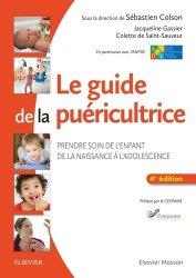 Le guide de la puéricultrice-elsevier / masson-9782294747731