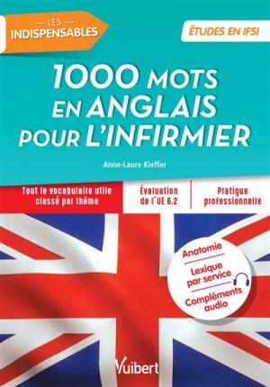 Les 1000 mots en anglais pour l'infirmier-vuibert-9782311660562