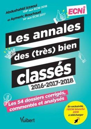 Les annales des (très) bien classés 2016-2017-2018-vuibert-9782311661217
