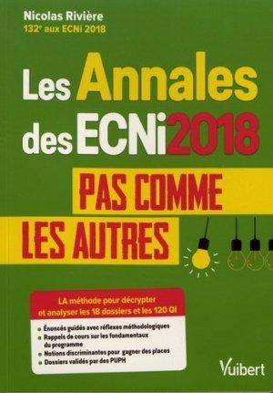 Les annales ECNi 2018 pas comme les autres-vuibert-9782311661224