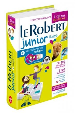 Le Robert junior illustré et son dictionnaire en ligne-Le Robert-9782321013907