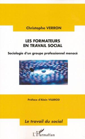 Les formateurs en travail social - l'harmattan - 9782343086330