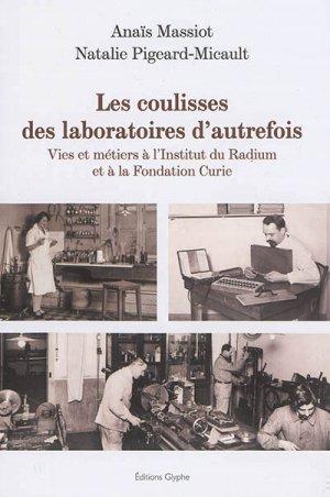 Les Coulisses des laboratoires d'autrefois-glyphe-9782358151986