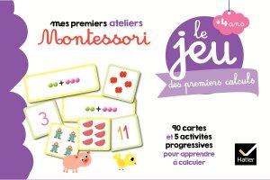 Le jeu Montessori des premiers calculs - hatier - 9782401051546