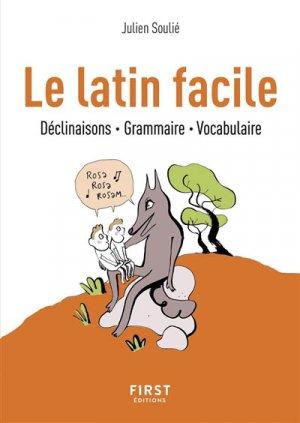 Le latin facile - first  - 9782412038963