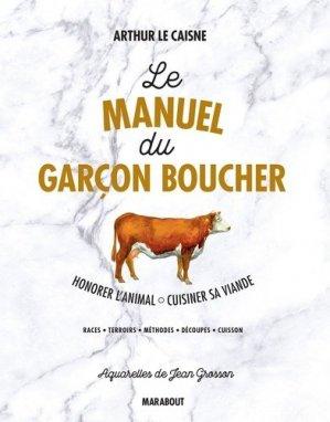 Le manuel du garçon boucher-marabout-9782501115308
