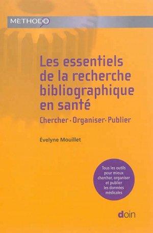 Les essentiels de la recherche bibliographique en santé - doin - 9782704014712
