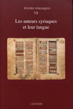 Les auteurs syriaques et leur langue-geuthner-9782705340094