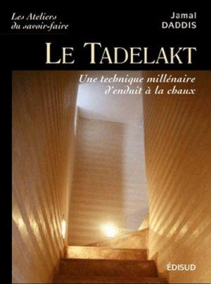 Le Tadelakt - edisud - 9782744909214