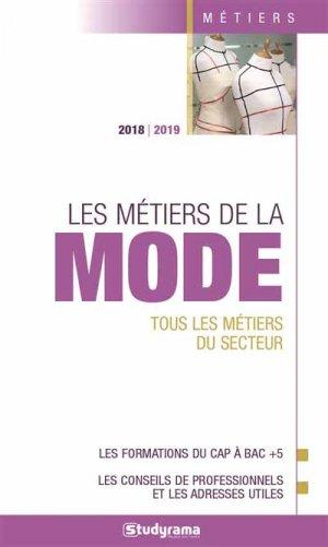 Les métiers de la mode 2018-2019-studyrama-9782759037650