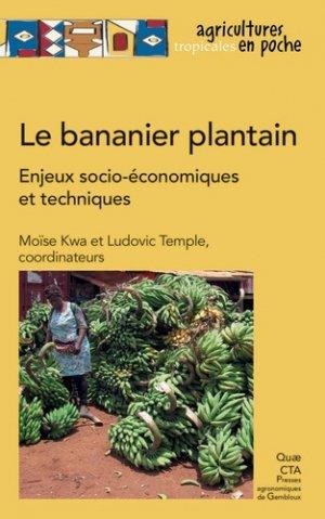 Le bananier plantain-quae-9782759226795