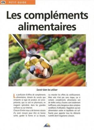 Les compléments alimentaires-aedis-9782842599720
