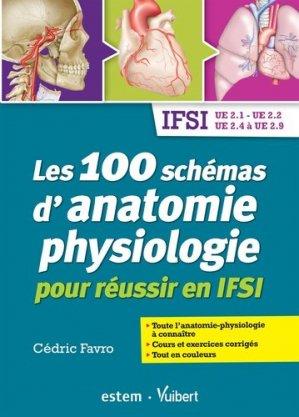 Les 100 schémas d'anatomie physiologie - estem - 9782843718502